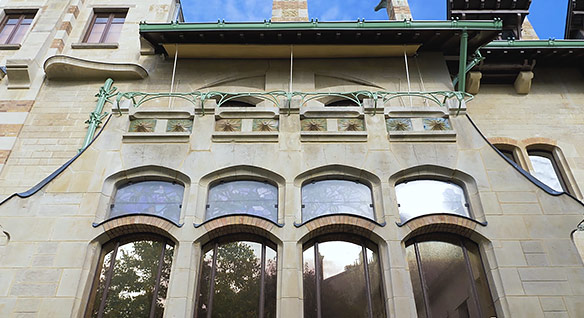 Video showing use of reality capture In renovation of Art Nouveau villa