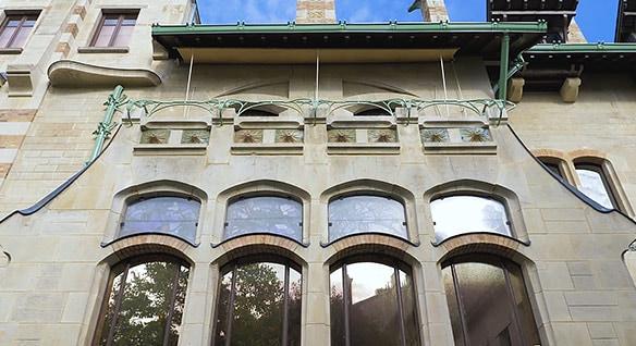 Video zum Einsatz von Realitätserfassung bei der Restaurierung einer Art-Nouveau-Villa