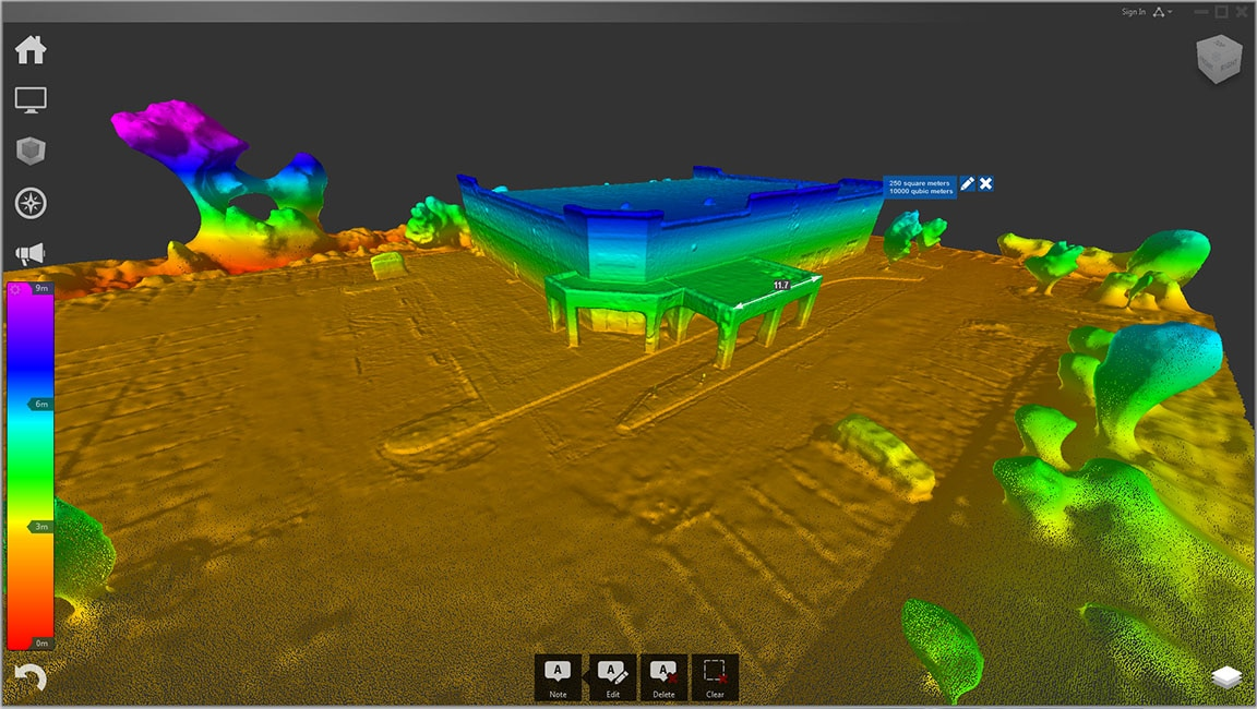 Export models as 3D point clouds in RCS format