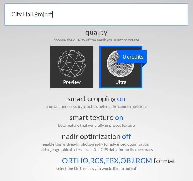 Supports RCM, OBJ, and FBX 3D formats