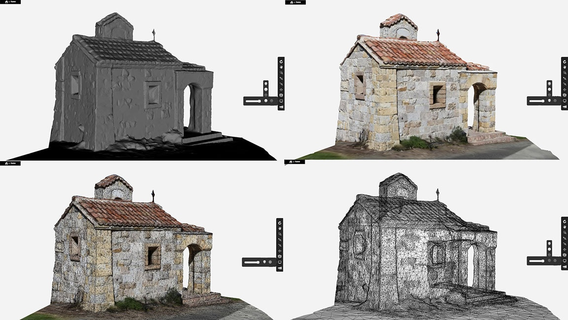Preview the 3D models on the web