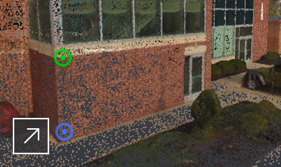 View and edit point clouds