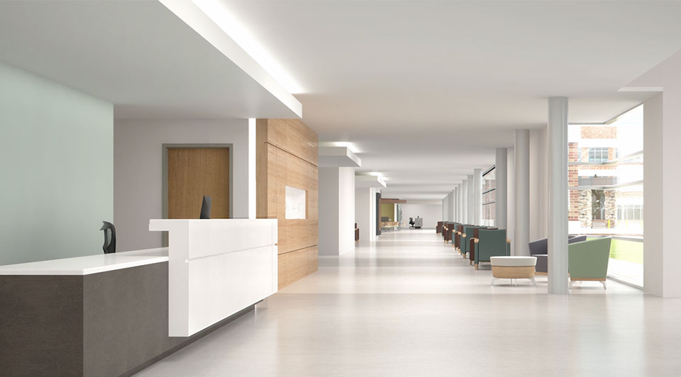 Bates Architecture used ReCap Pro for a major hospital renovation