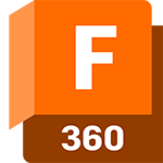 Badge de produit Fusion 360