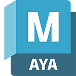 Badge de produit Maya