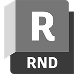 Autodesk Rendering product badge