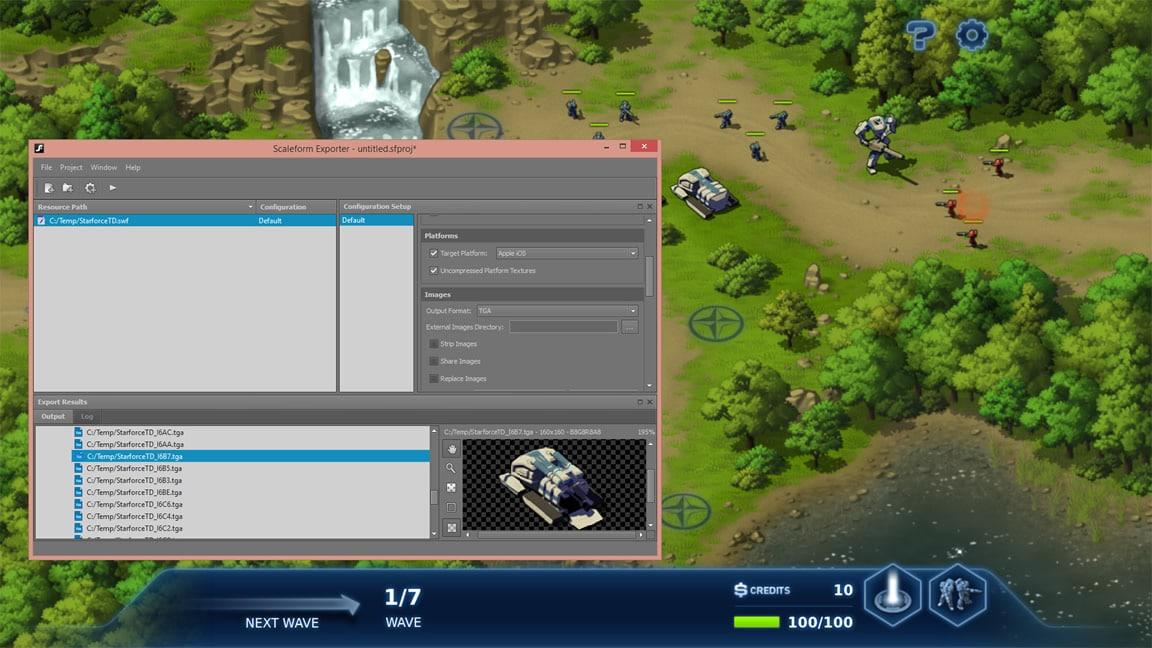 Game Design Tools For Ui Menus Scaleform Autodesk