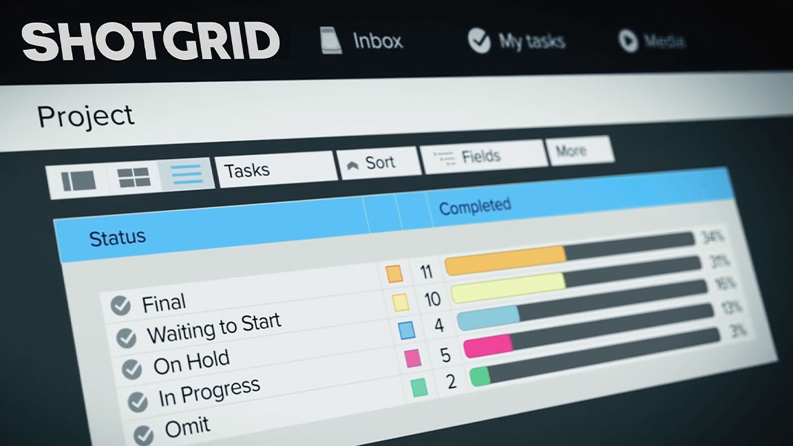 Managing projects and productions in ShotGrid.
