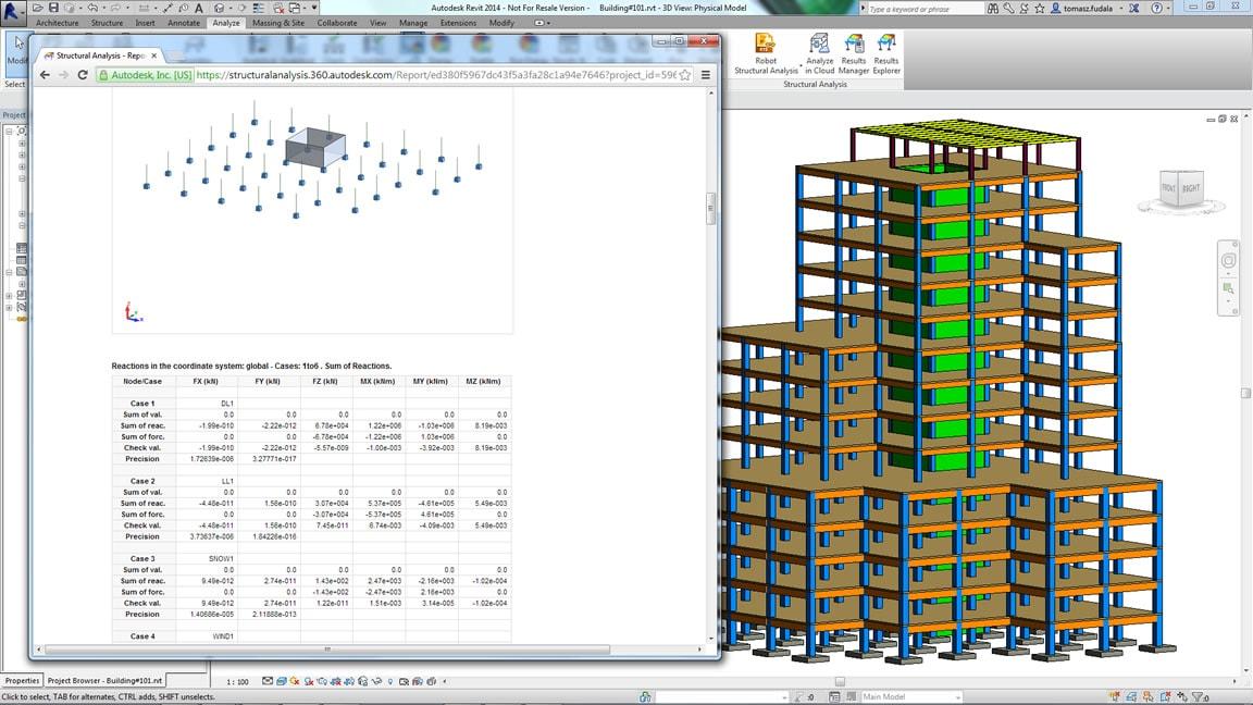 Software per l 39 analisi strutturale di edifici autodesk for Software di progettazione di edifici domestici