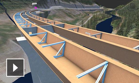 Video: Enhanced bridge design using InfraWorks, Civil 3D, and Revit software