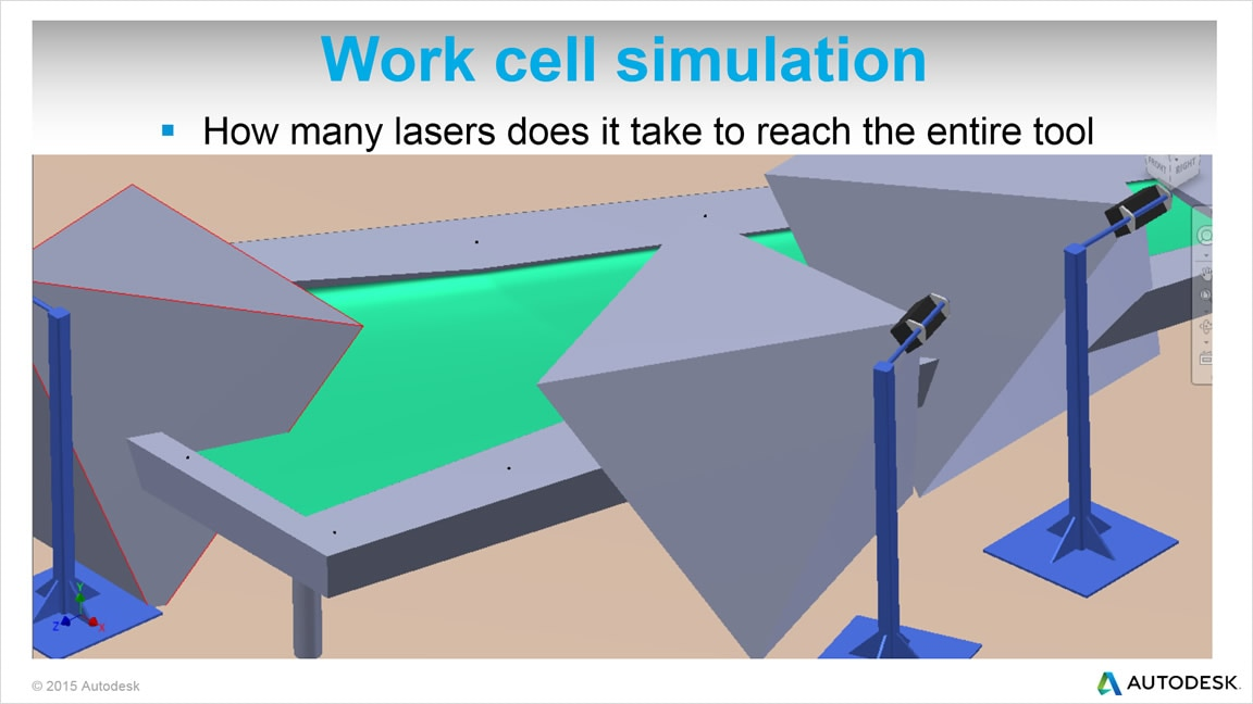 Project, optimize, and simulate laser projects