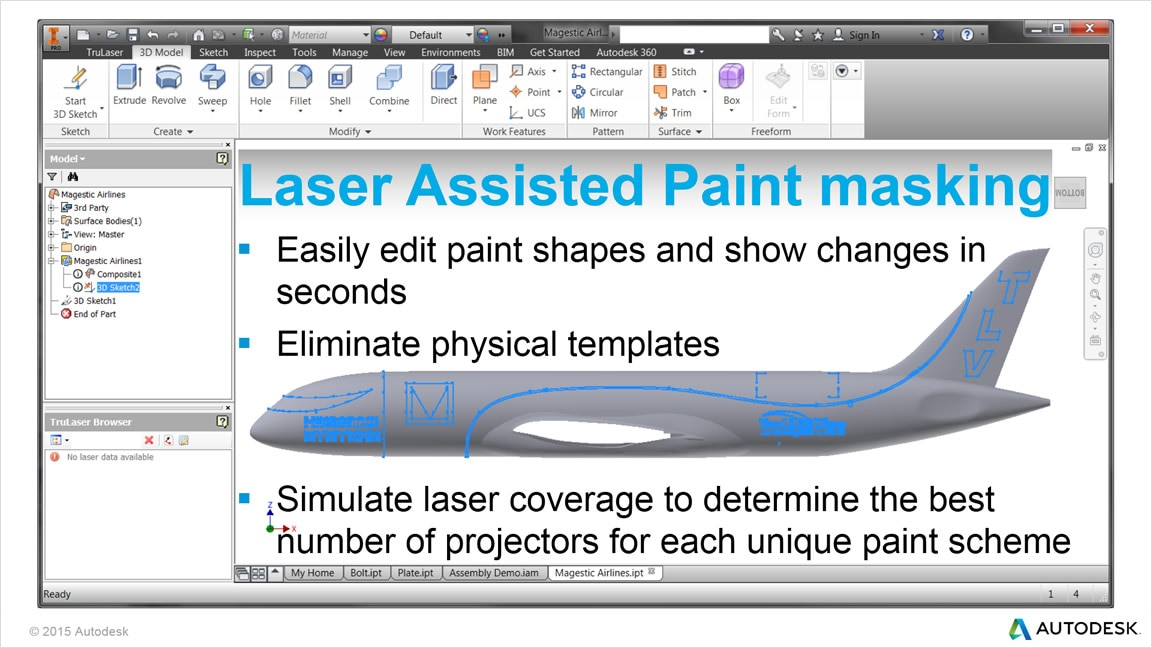 Laser-assisted paint masking