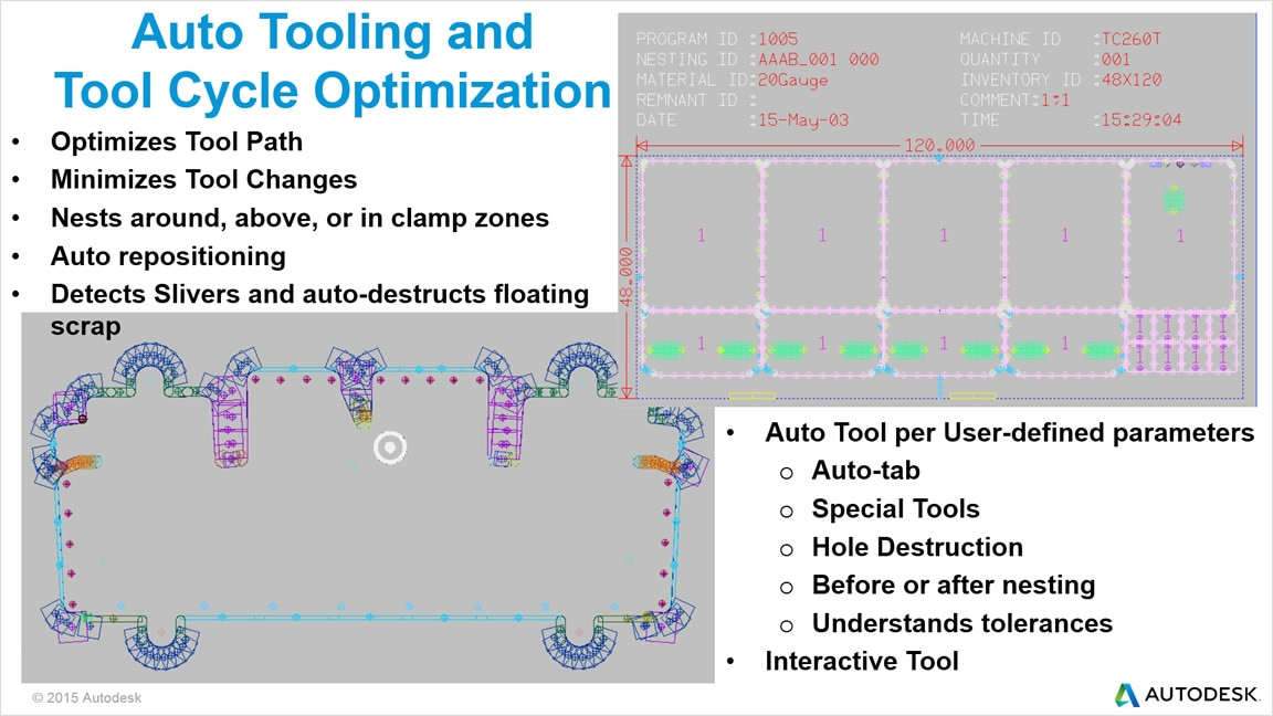 Optimize tool cycles with automatic tooling