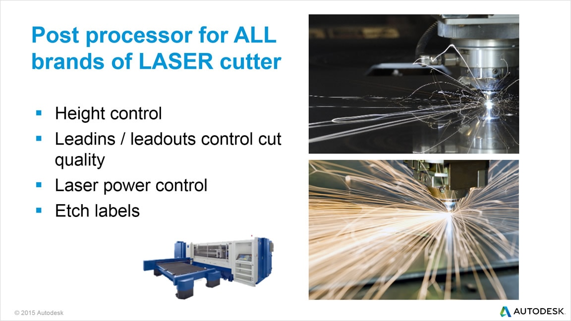 TruNest Contour supports all major brands of laser cutters