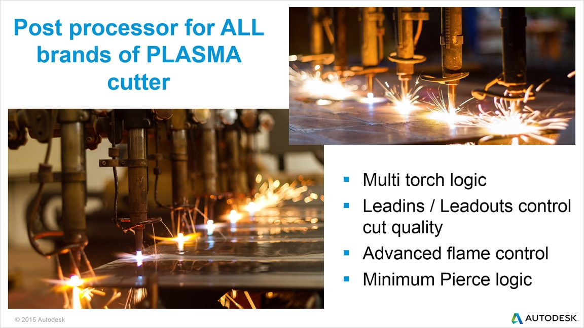 TruNest Contour supports major brands of plasma cutters