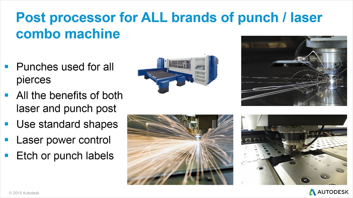 TruNest Multi-Tool supports punch press and laser cutting combination machines