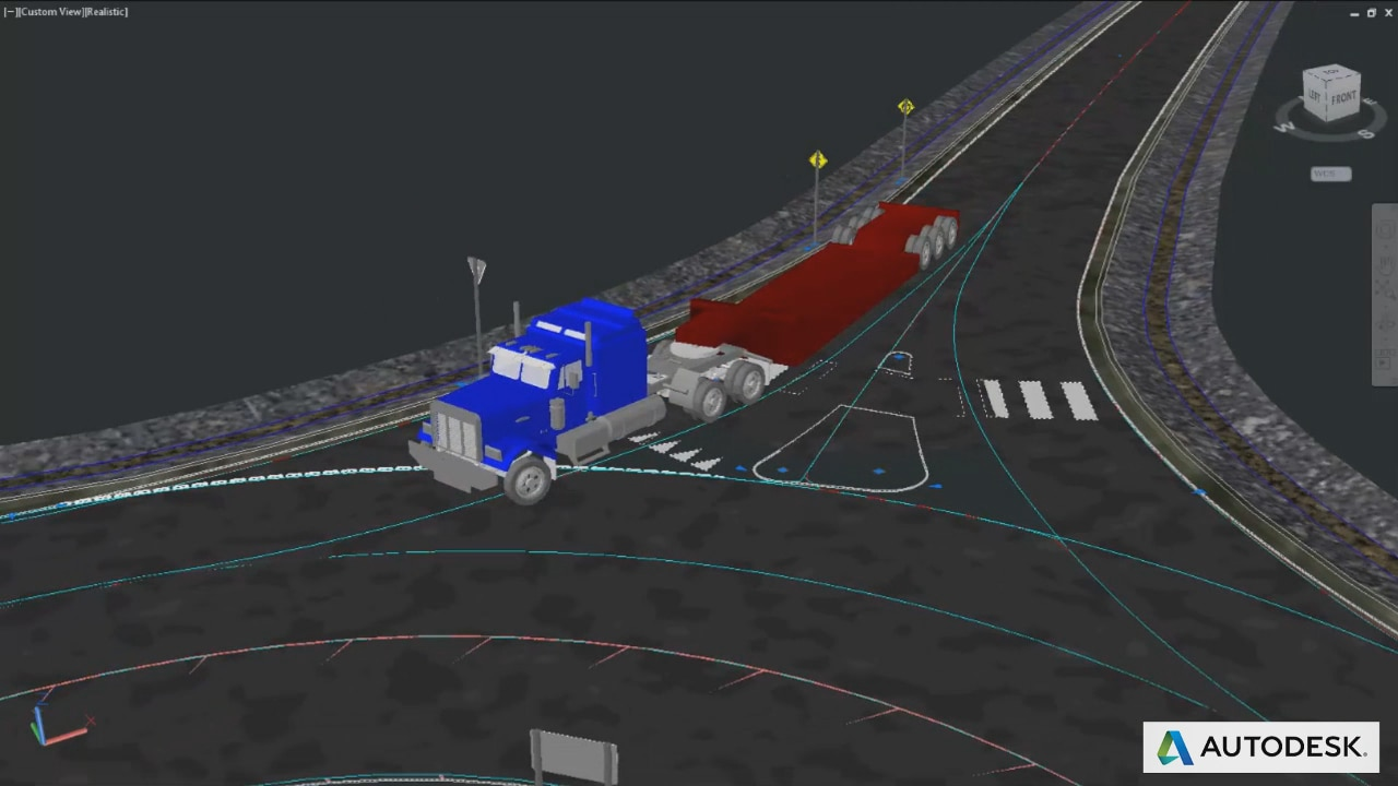 Vehicle Tracking | Swept Path Analysis Software | Autodesk