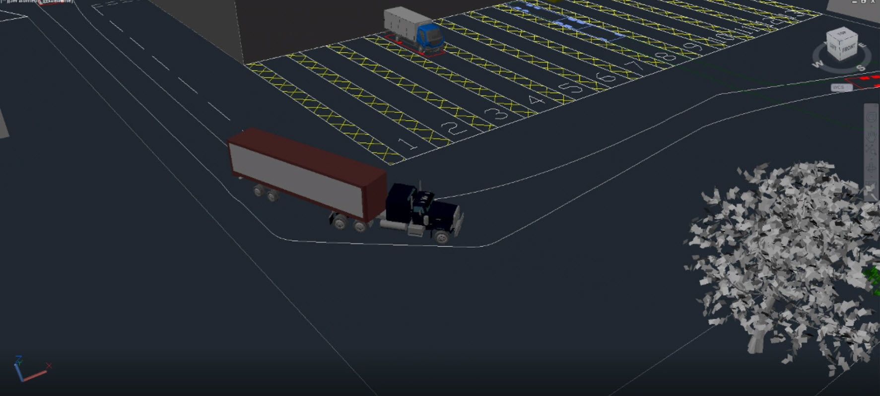Vehicle Tracking Swept Path Analysis Software Autodesk Electrical Drawing Cad Free