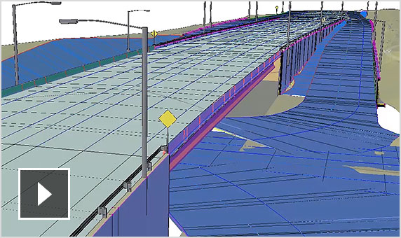 Video: An introduction to how Architecture, Engineering & Construction Collection software can enhance roadway design