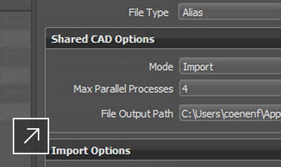 Batch mode file import