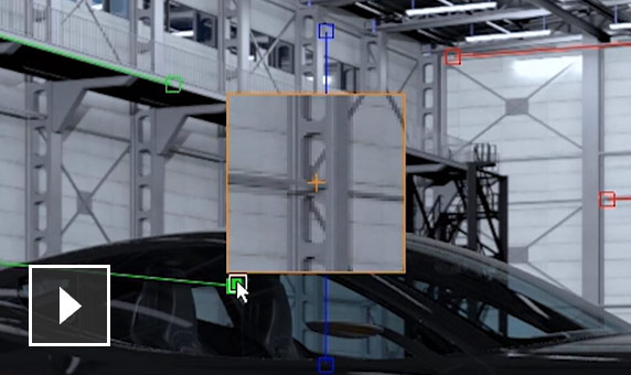 Video: Perspective match adjusts the camera viewpoint
