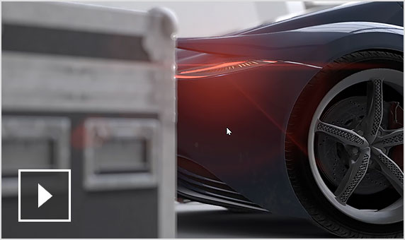 Video: Real-time depth of field for added realism to renderings
