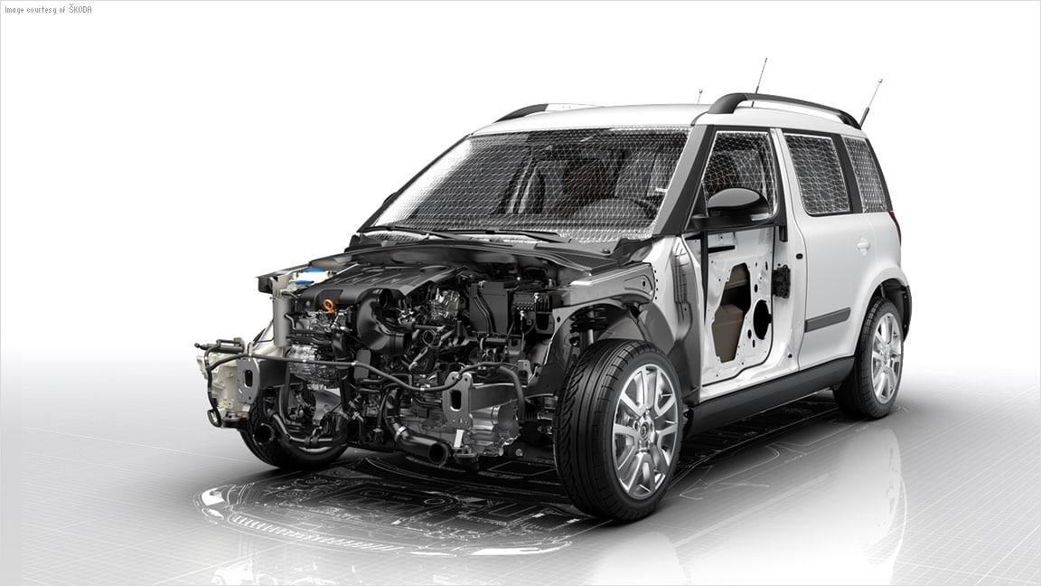 VRED Presenter 3D presentation software employs powerful rendering engines