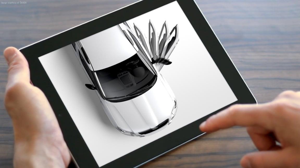 Live-stream your 3D data using VRED Server online rendering technology