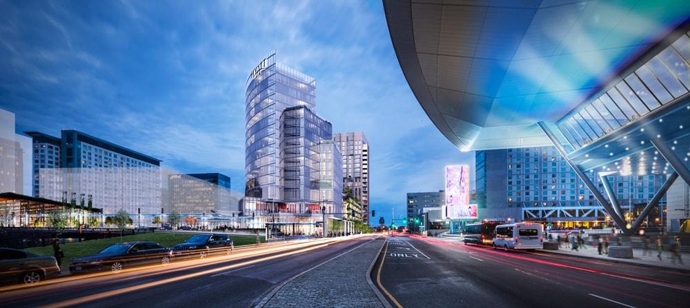 Visualización en 3D de calles concurridas de la ciudad