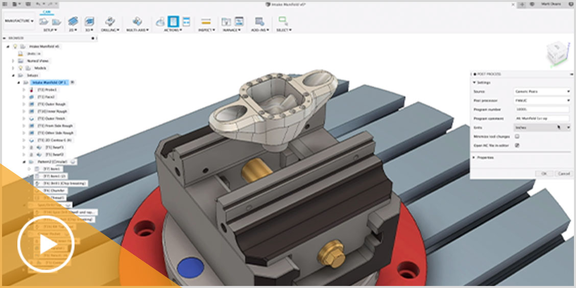 Cad Cam Computer Aided Design And Manufacturing Autodesk