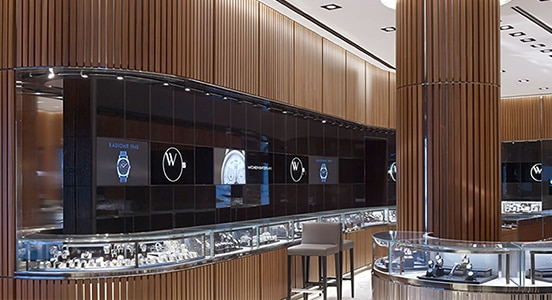 CallisonRTKL utilise AutoCAD pour concevoir son flagship store Watches of Switzerland.