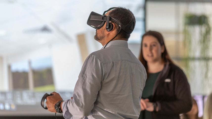 Autodesk customer uses VR in their construction business