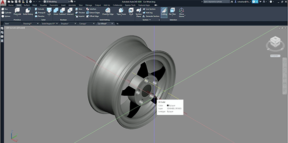 Video: Modelado 3D con AutoCAD