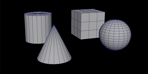 Common types of geometry in 3D modelling
