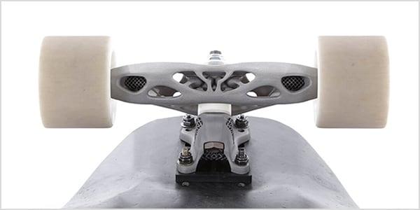 Komponenten mit geringem Gewicht sind das Ergebnis der additiven Konstruktion