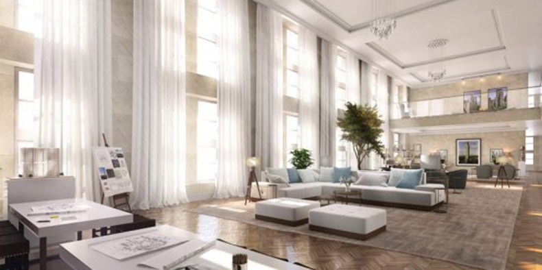 Rendering of 195 Broadway by Tagram 3DS, made in 3ds Max.
