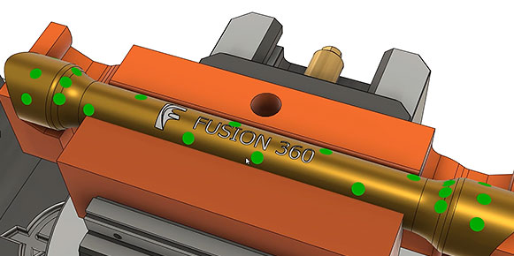 The Fusion 360 machining extension automates part set-up and verification