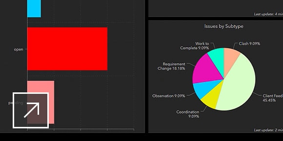 Project design and issue performance dashboard