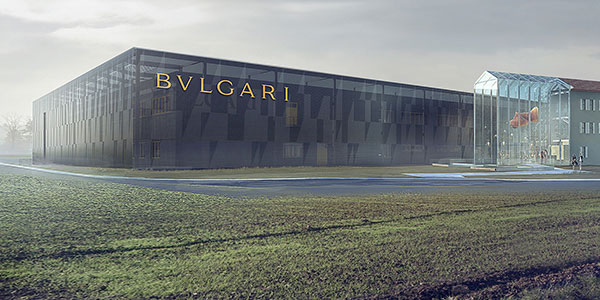 Italian architecture firm Open Project turns to BIM to build Europe's largest jewelry factory.