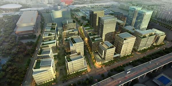 Ambitious in both scale and timing, BIM powers the transformation of the former Shanghai World Expo site.