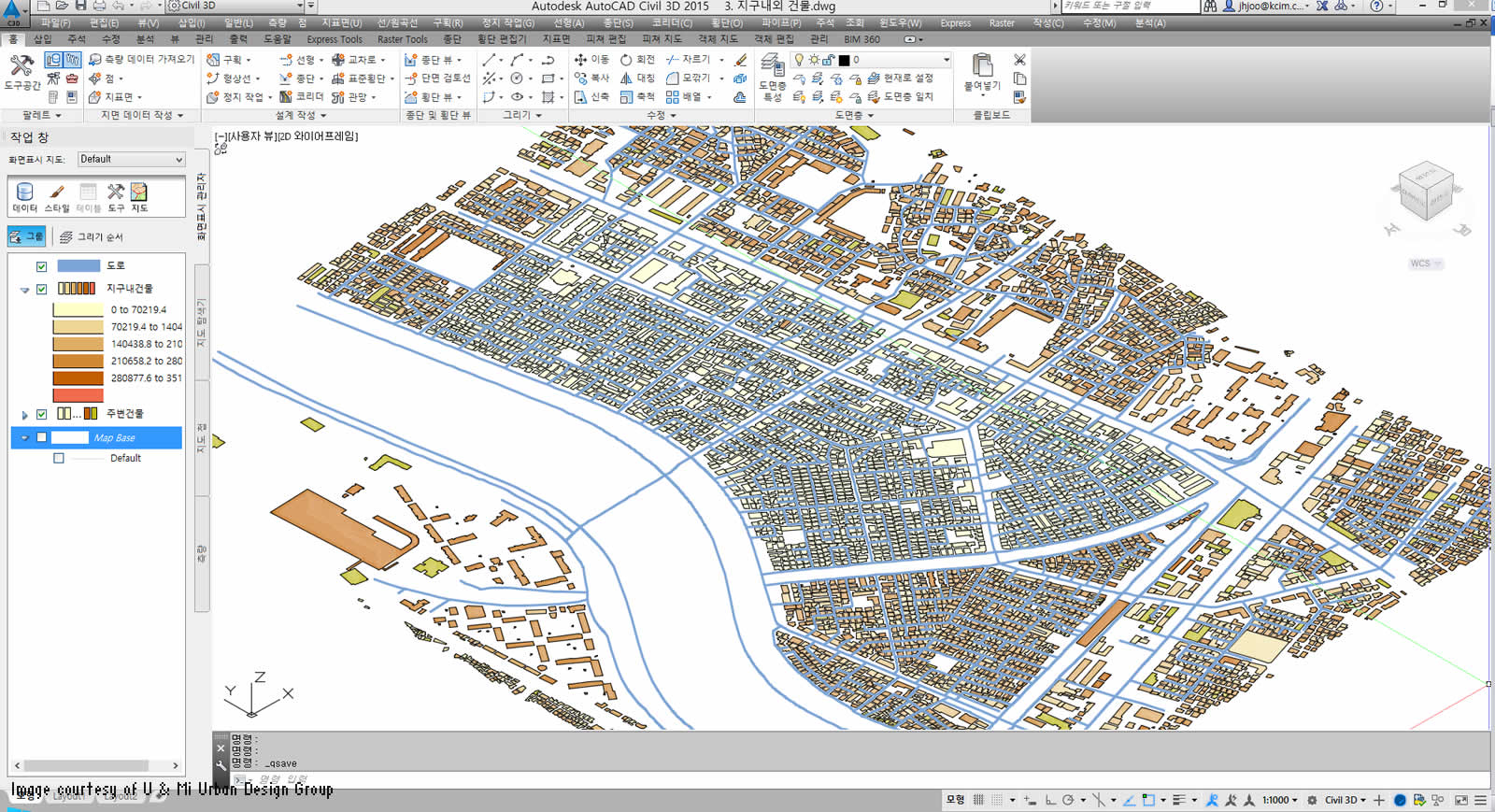 U mi uses bim for urban planning bim autodesk Urban design vs urban planning