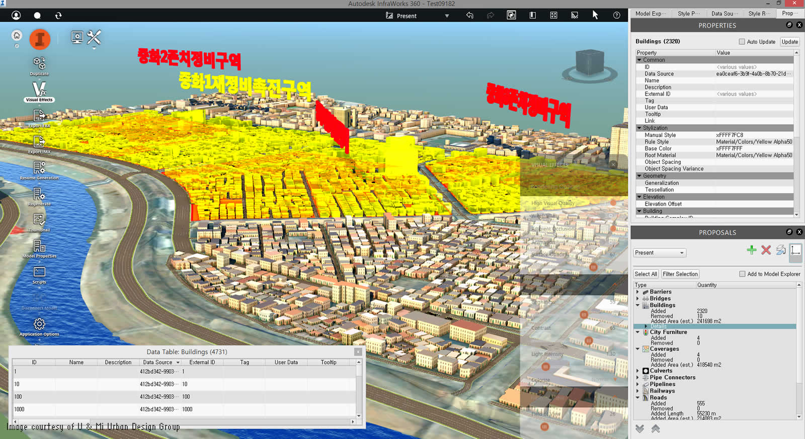 U mi uses bim for urban planning bim autodesk for Planning software free