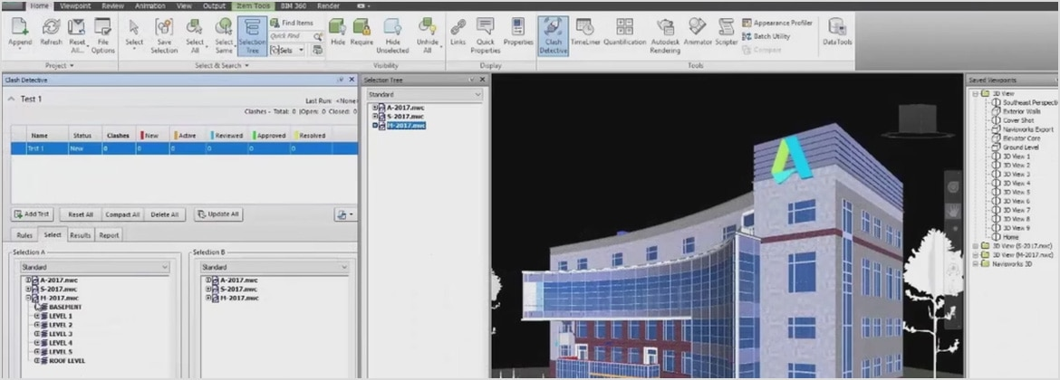 Bim software for structural engineering design autodesk for Building construction design software