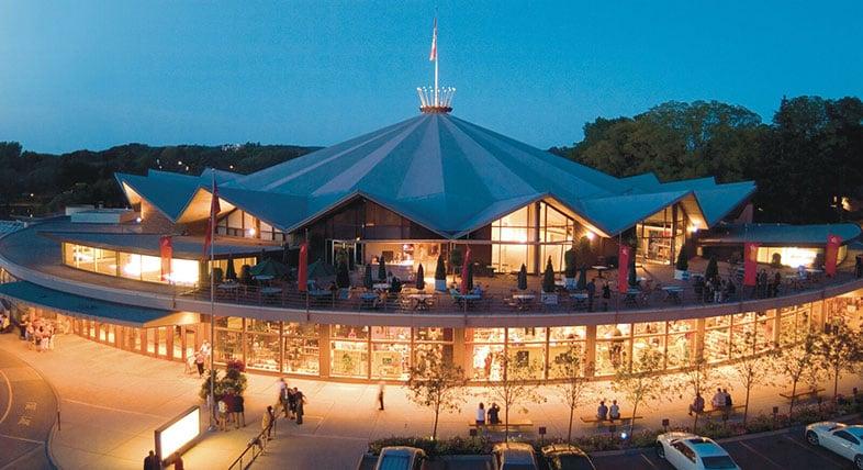 Festival de teatro de Stratford à noite