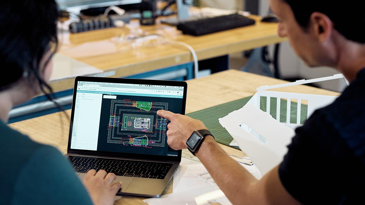 AutoCAD 2020 for Mac in use