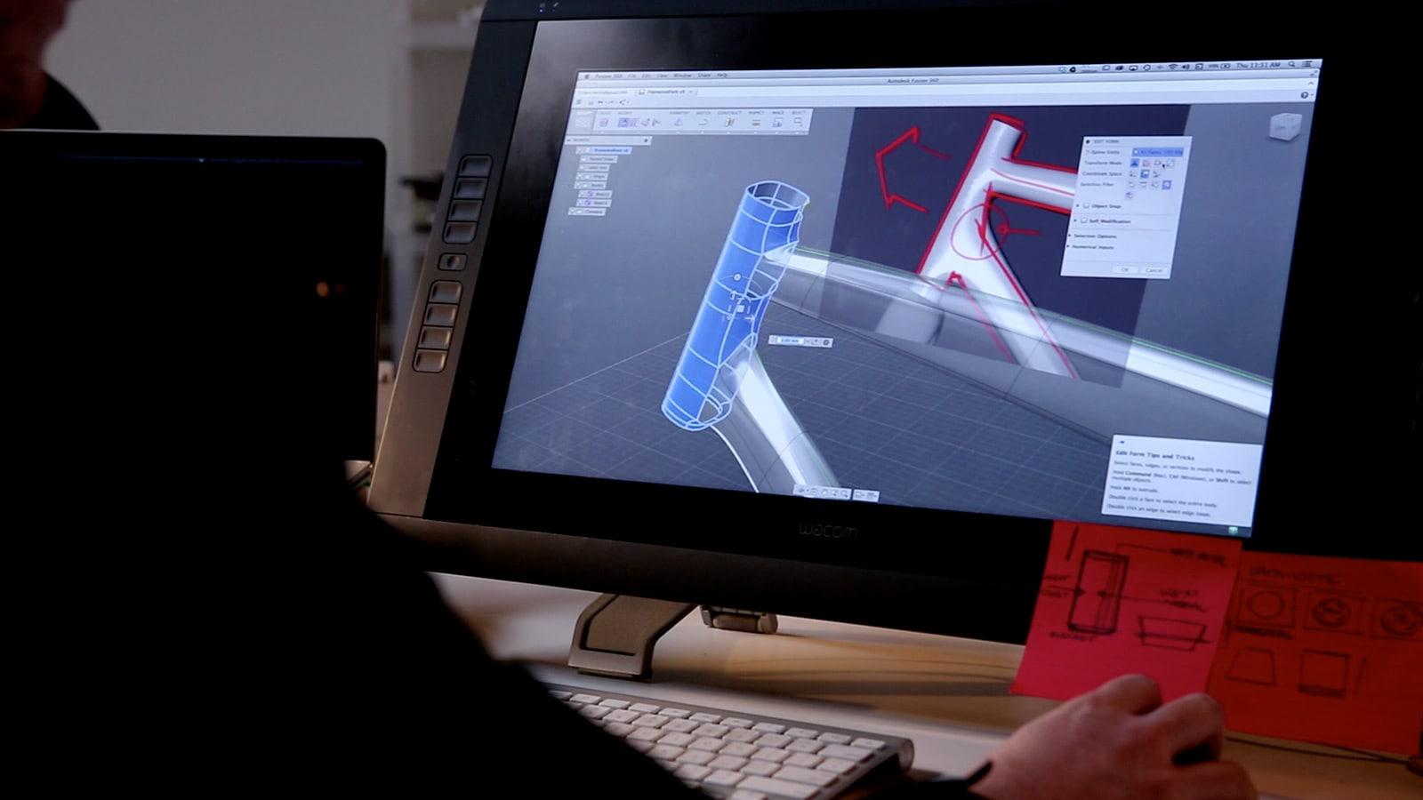 Projeto De Uma Bicicleta Com O Software CAD De Nuvem Fusion 360