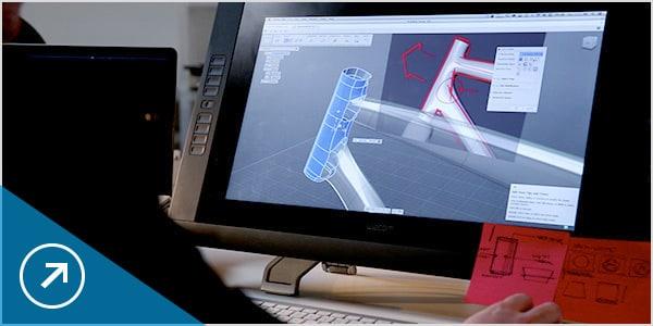 diseñar una bicicleta con el software cad en la nube fusion 360