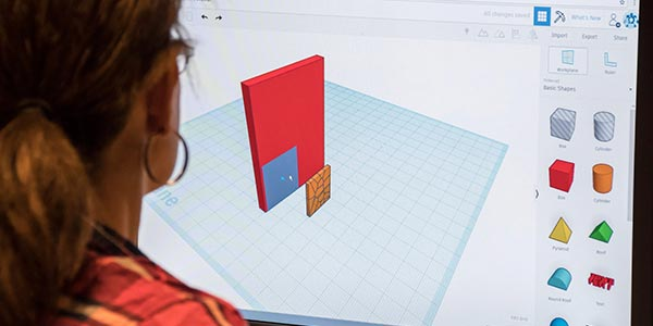 Tinkercad is online CAD software