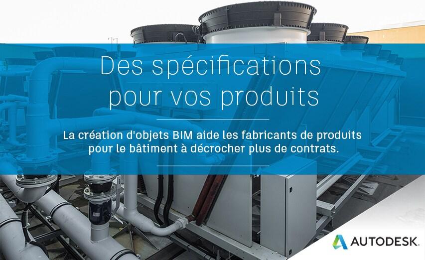 Livre électronique Des spécifications pour vos produits