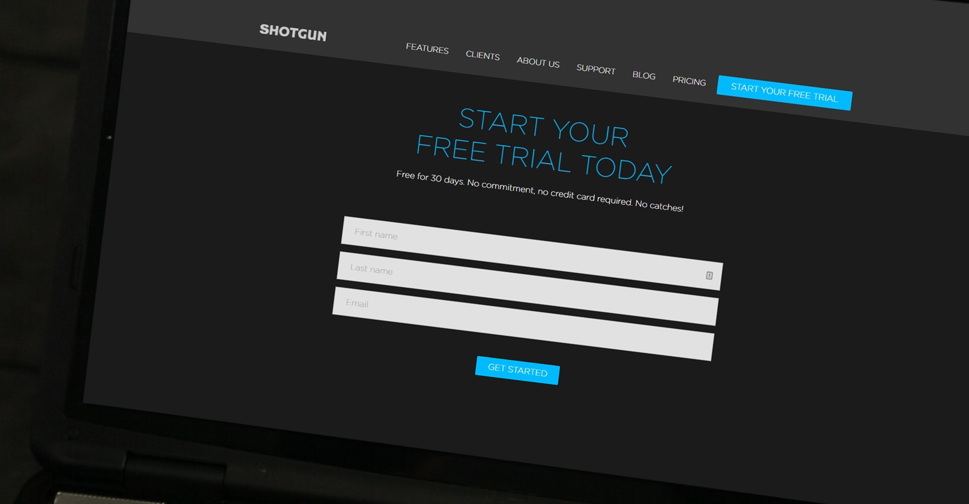 Shotgun software free trial